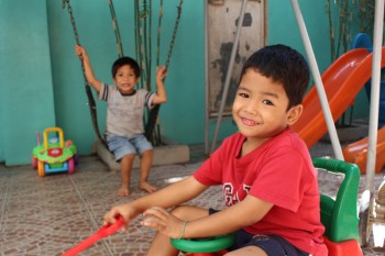 Cast of WICKED Manila visit Gentle Hands Orphanage