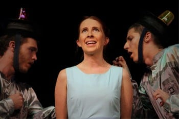 Emily Carr as Lisa Jones in Dissocia - Underground Productions [image supplied]