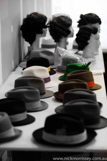 Hats for Guys & Dolls Photo: Nick Morrissey
