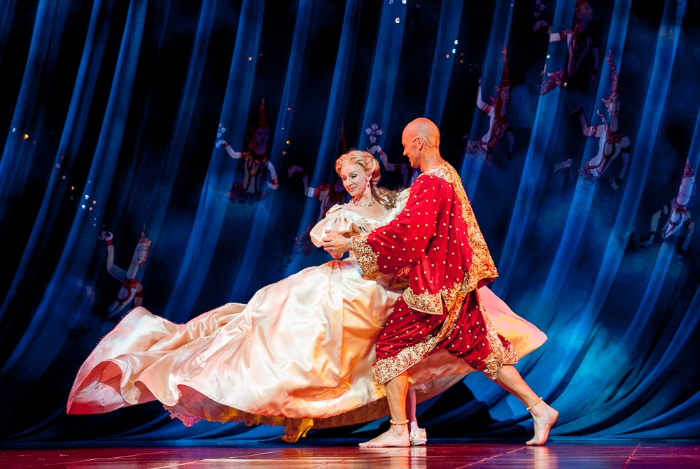 Lisa McCune and Teddy Tahu Rhodes in Opera Australia's The King and I. Image by Oliver Toth