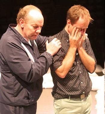 Tony Rickards and Eamon Flack  [image: Sean Dowling]