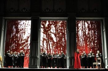 Opera Australia. Eugene Onegin. Photo by Jeff Busby
