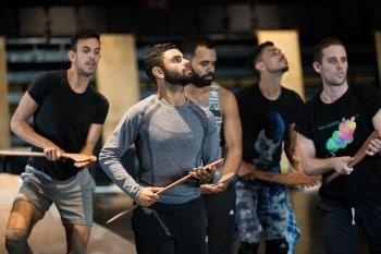 Male ensemble Patyegarang rehearsals Photo by Jess Bialek