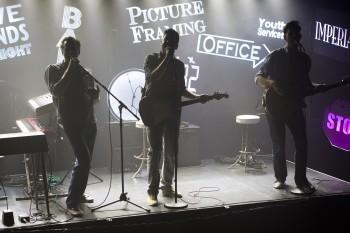 Ian Stenlake, Scott Irwin, and Toby Francis. Photo by Noni Carroll.