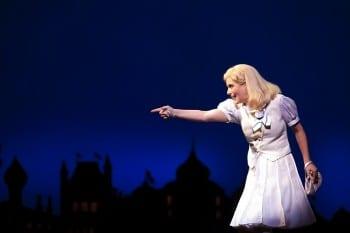 Lucy Durack as Glinda in WICKEDImage by Belinda Strodder