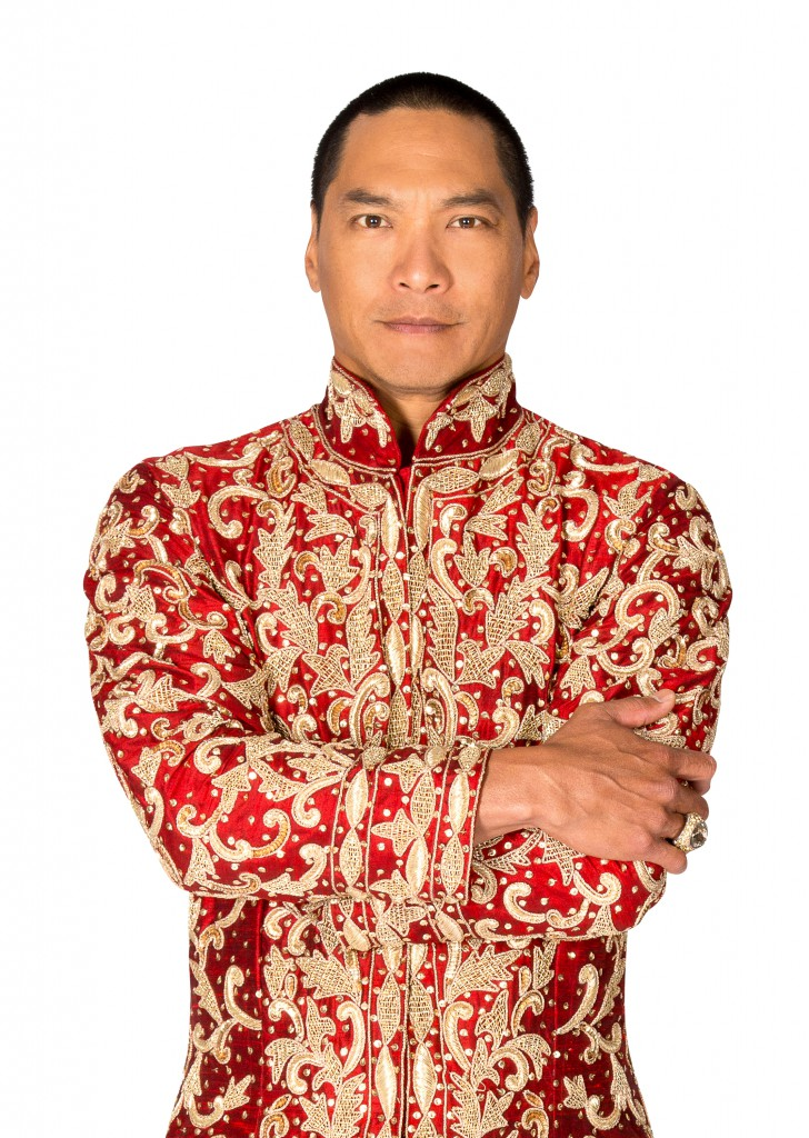 Jason Scott Lee on stage in The King and I