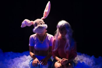 Holly Garvey and Violette Ayad in RabbitHead