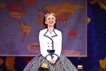 Lisa McCune as Anna Leonowens in The King and I. Image by Belinda Strodder
