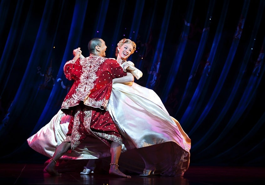 Lisa McCune and Jason Scott Lee in The King and I. Image by Belinda Strodder