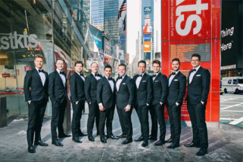 The Ten Tenors on Broadway  [Photography: Dylan Evans]