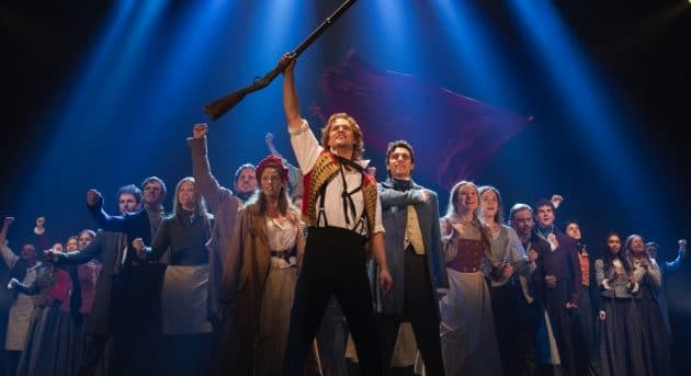 LES MIS AUSTRALIAN PRODUCTION. One Day More. Image by Matt Murphy