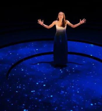 Ashlee Lollback in Pale Blue Dot [image: Dylan Evans]