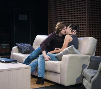 Veronica Neave and Thomas Larkin in Sex With Strangers [image: Joel Devereux]