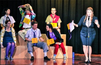 The 25th Annual Putnam County Spelling Bee - Underground Productions [photography: Dylon S King]
