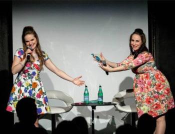 Judy Hainsworth and Kaitlin Oliver Parker in #FirstWorldWhiteGirls [image supplied]