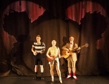 The cast of Patch Theatre's Cranky Bear.