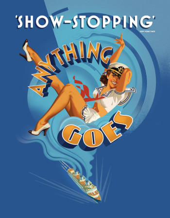 Anything Goes - coming to Australia in 2015.