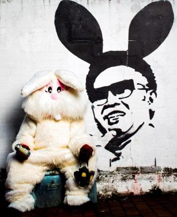 A Rabbit for Kim Jong-il. Photo by Brett Boardman.