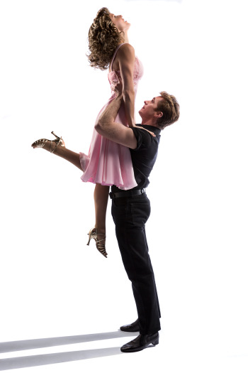 Kirby Burgess and Kurt Phelan are Baby and Johnny Castle in Dirty Dancing. Photo by Kurt Sneddon.