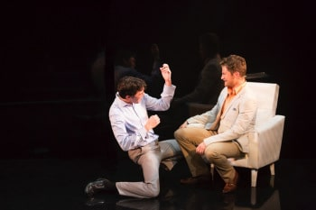 Shaun Rennie and Tyran Parke in LOVEBiTES. Image by Pia Moore