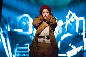 Kerrie Ann Greenland as Eponine in Les Miserables. Image by Matt Murphy
