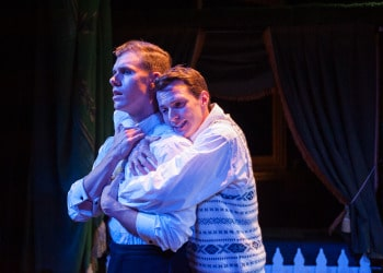 Anthony (Blake Bowden) and James (Ross Hannaford). Image by Oliver Toth