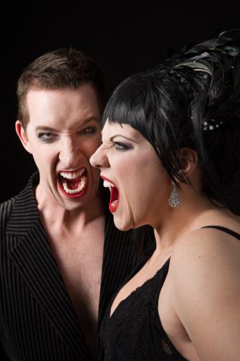 Jacqui Dark and Kanen Breen are Strange Bedfellows - opera goes cabaret!