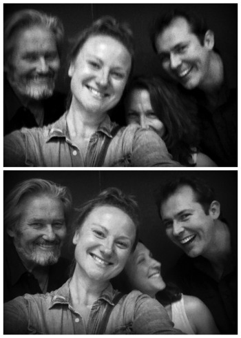 Peter, Marika, Blazey and Mike being absolutely awesome. As always.