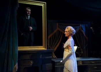 Edward (Phillip Lowe) and Louise (Chloe Dallimore) in Beyond Desire. Image by Oliver Toth