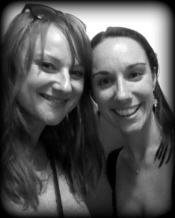 Marika Aubrey and Erin James
