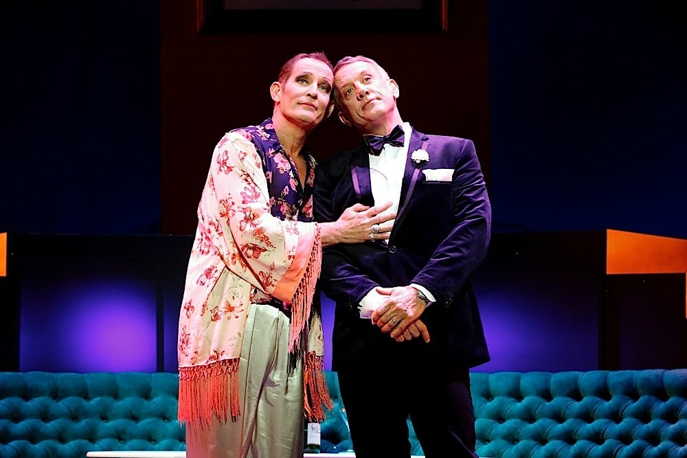 Todd McKenney and Simon Burke. Image by Jeff Busby