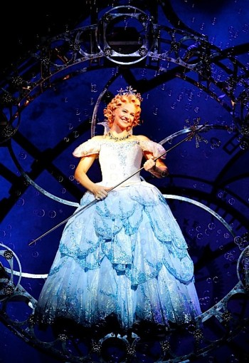 Back in the bubble: Suzie Mathers will return as Glinda in WICKED from 12 February 2015. Image by Maye Wong