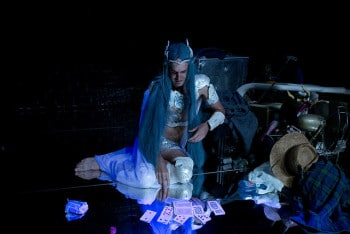 Blue Wizard. Image by Lisa Tomasetti.