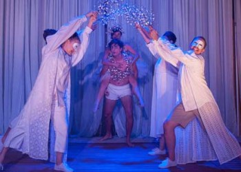 Michael Gow's Away - Heartbeast Boutique Theatre. Image Supplied.