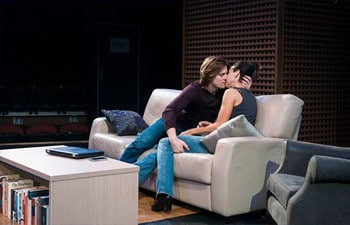 Thomas Larkin and Veronica Neave in Sex With Strangers. Image by Joel Devereux.
