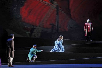 Victorian Opera. The Flying Dutchman. Photo by Jeff Busby