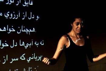 Sabryna Te'o. Photo by Brett Boardman.