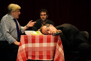 Insomnica Theatre's Jerry and Tom. Photo by GiGee Photography