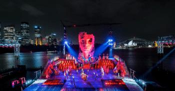 Handa Opera on Sydney Harbour: Aida.