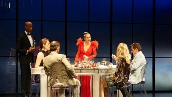 The cast of Dinner. Image by Gary Marsh Photography.