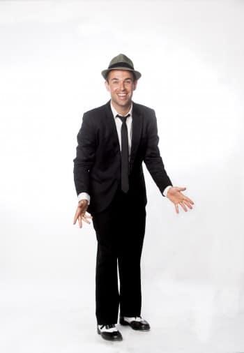Luke Alleva, the dancin' man.