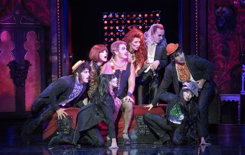 The cast of Rocky Horror in Sydney. Photo by Brian Geach.