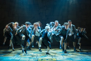 The Royal Shakespeare Company's production of Roald Dahl's Matilda The Musical. Photo by Manuel Harlan.