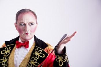 Ringmaster Scott Hollingsworth