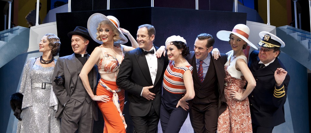 The principal cast of Anything Goes. Image by Belinda Strodder