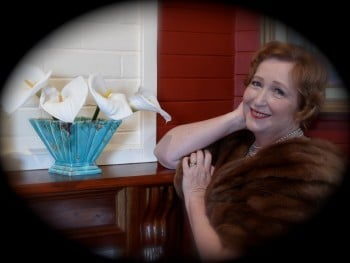 Christine Douglas as Gladys Moncrieff in Our Glad, one of the three productions in the Cabaret in the Day season.