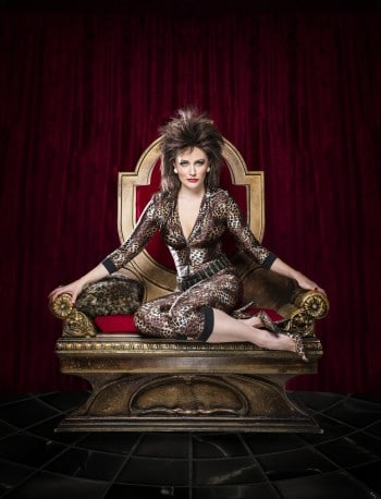 Hair to the Throne: Marney McQueen as Rosa Waxoffski