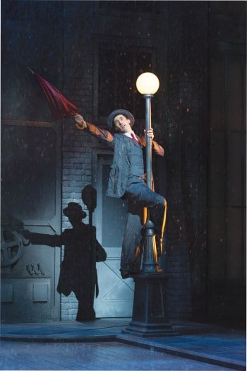 The UK production of Singin' in the Rain.