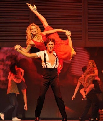 Maddie Peat as Penny in Dirty Dancing - QPAC. Photo: Jeff Busby.
