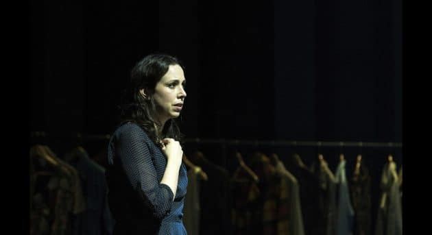 Alison Bell in Betrayal. Photo by Shane Reid